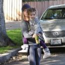 Ashley Tisdale: Out and about in Toluca Lake