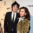 Tommy Lee and Sofia Toufa attend Glazer Palooza and Suits and Sneakers on February 3, 2016 in San Francisco, California.