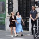 Chloe Moretz – Out and about in Paris