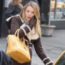 Blake Lively - On the Set of 'Gossip Girl in New York City - 07.02.2011