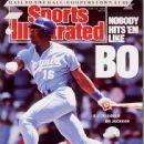Bo Jackson - Sports Illustrated Magazine Cover [United States] (12 June 1989)