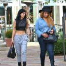 Kylie Jenner Leaving Sugarfish Sushi In Calabasas