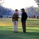 Rannulph Junuh (Matt Damon) and Bagger Vance (Will Smith) in Dreamworks' The Legend of Bagger Vance - 2000