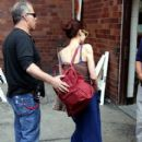 .Fiona Apple is spotted heading to her gig at the Citi Wang Theater on Saturday evening in Boston, MA - 412 x 594