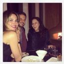 Luciana Gimenez, Helio Campos and Bebel Gilberto in NYC