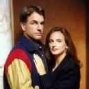 Mark Harmon and Marlee Matlin