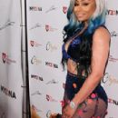 Blac Chyna at The Launch of Her MY3DNA Figurine Dolls at the MVA Studios in Los Angeles, California - August 17, 2017