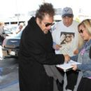 Al Pacino is seen at LAX