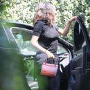 Selena Gomez – Arrives at a private medical building in LA