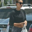 Irina Shayk at the Gym for a Workout – Los Angeles 8/24/2016