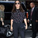 Salma Hayek Out and About In Nyc