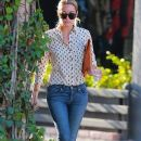 Lauren Conrad stops by the Kate Somerville Skin Care Center in West Hollywood, California on September 8, 2014