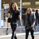 Zendaya Coleman is seen shopping with her mom and dog at the Grove in Los Angeles, California on August 12, 2016