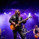 Ace Frehley performs at the Children Matter benefit on September 2, 2017 at CHS Field Stadium in St Paul, Minnesota - 454 x 317