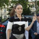 Gigi Hadid – Arrives at Vogue Party in Paris