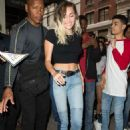 Miley Cyrusheading to dinner in New York City - 454 x 646