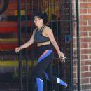 Ariel Winter – Leaving the gym in Studio City