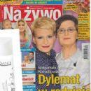 Malgorzata Kozuchowska - Na żywo Magazine Cover [Poland] (1 September 2016)