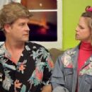 Andrea Barber and Dave Coulier