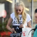 Sophie Turner Out Shopping in Los Angeles 08/23/2016