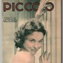 Maureen O'Sullivan - Piccolo Magazine Cover [Belgium] (22 October 1933)