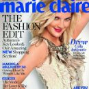 Drew Barrymore Marie Claire UK September 2010