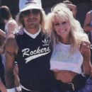 Vince and Sharise Neil at the annual TJ Martell Foundation in May 1988