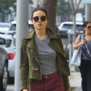 Crystal Reed Shops in Beverly Hills, CA 3/3/2016 - 454 x 587