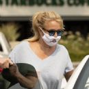 Britney Spears – Wears cat mask while out for cruising in Calabasas - 454 x 681