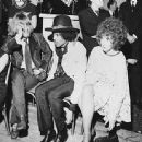 Jimi Hendrix and Kathy Etchingham  with Brian Jones,London Jan 1968-Grapefruit launch party, Hanover Grand Hotel - 350 x 336