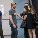 Armie Hammer- September 29, 2016- Armie Hammer Is Seen at 'Jimmy Kimmel'