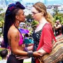 Jamie Clayton and Freema Agyeman