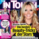 Heidi Klum, Paul Walker, Rebecca Mir, Emma Watson, Cameron Diaz - In Touch Magazine Cover [Germany] (24 December 2013)