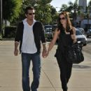 Kate Beckinsale Shopping At Brentwood Country Mart With Her Husband 2007-10-14