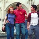 Mena Suvari, Chris Klein and Thomas Ian Nicholas in Universal's American Pie 2 - 2001