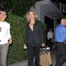 Sharon Stone: leaving from dinner with friends at the Mastro's restaurant in Hollywood