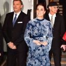 Prince Windsor and Kate Middleton during a reception to celebrate Swedish culture at the Fotografiska Gallery