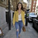 Jess Impiazzi – Arrives for lunch at Rosso Restaurant in Manchester