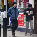 Hanging out With BFF Tom Sturridge in London