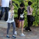 Selena Gomez and Ashley Benson: in St. Petersburg