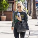 Ashlee Simpson – Leaves the gym in LA