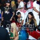 Blac Chyna, Tyga, Chris Brown, and Karrueche at the 2013 BET Awards Afterparty at Belasco in Los Angeles , California - June 30, 2013 - 426 x 450