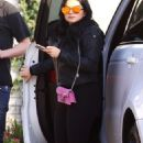 Ariel Winter – Arriving to a friend's house in Beverly Hills