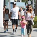 Jessica Alba and Her Family Enjoy a Day Out in Beverly Hills - 454 x 497