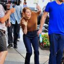 Emma Stone – Films 'Billy on the Street' set in New York City - 454 x 584