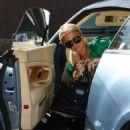 Paris Hilton - the Beverly Hills Grill, 09-02-11