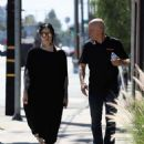 Kat Von D in Long Black Dress – Out and about in Los Angeles - 454 x 566