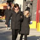 Dianna Agron and Winston Marshall – Out in Soho - 454 x 616