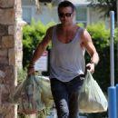 Colin Farrell leaving a Gelson's Market in Los Feliz, CA (August 20)