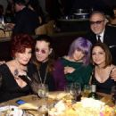 Ozzy Osbourne and his family attend the 56th pre Grammy gala on January 25th, 2014 - 454 x 323